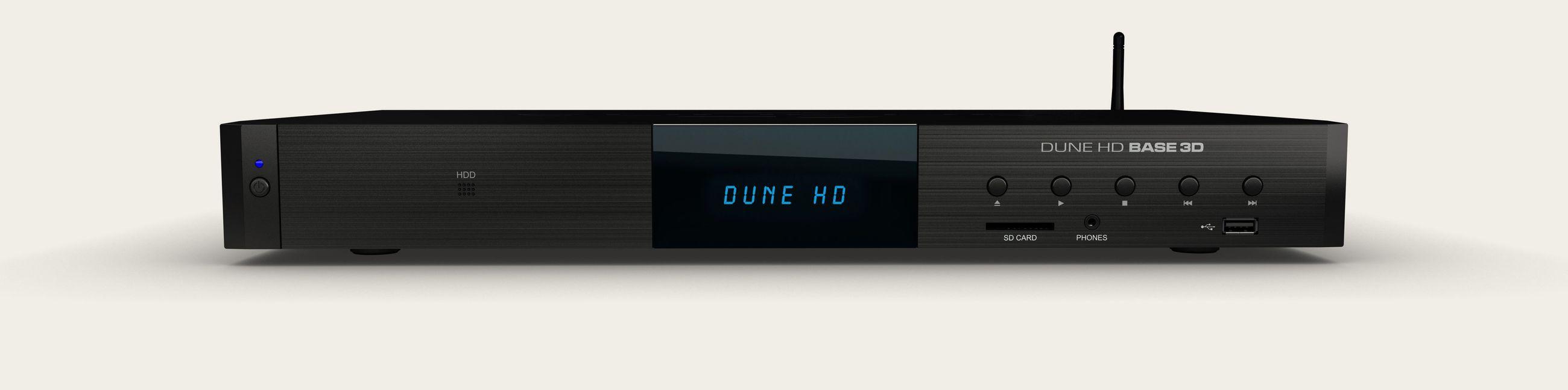 BASE 3D медиаплеер DUNE HD